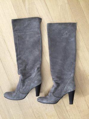 Jackboots grey suede