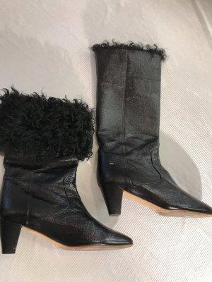 Chanel Buskins black