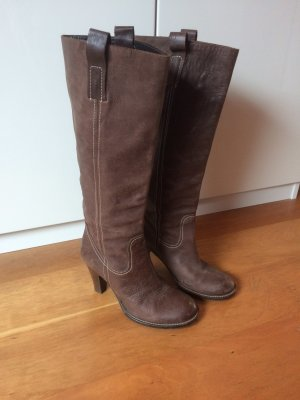 Cox Slouch Boots light brown