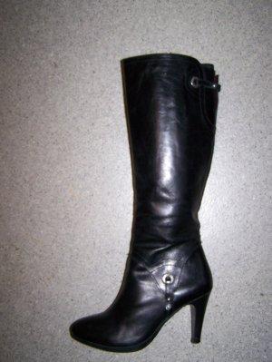 Stiefel von DISH, Gr. 39, schwarz, Leder