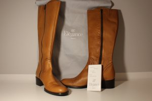 ae elegance Heel Boots cognac-coloured leather