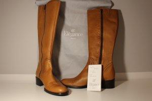 ae elegance Heel Boots cognac-coloured leather