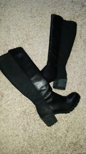 Esprit Zipper Booties black