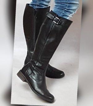 Stiefel von Gabor Leder Schwarz - Sehr gut