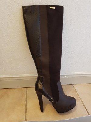 Stiefel von Gaudi (braun, neu, Material mix)