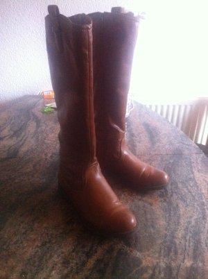Stiefel von Graceland, Cognac braun Gr. 37