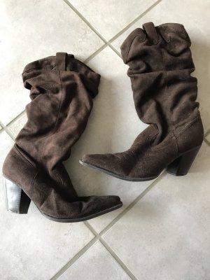 Stiefel von Graceland in Wildlederoptik in Größe 39