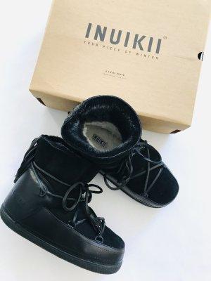 Stiefel von INUIKII in Schwarz Gr. D 39 - Horsetail Low