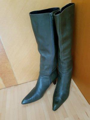 Stiefel von Jones, aus Leder in oliv