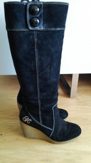 Stiefel von Killah Wildleder Gr. 37 schwarz