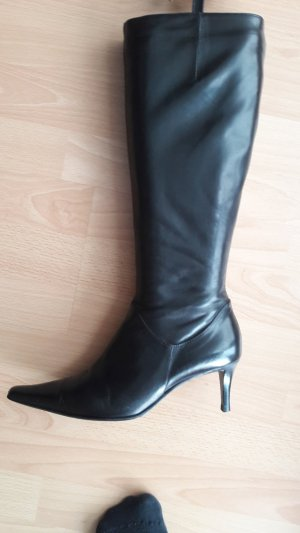 Maripé Heel Boots black leather