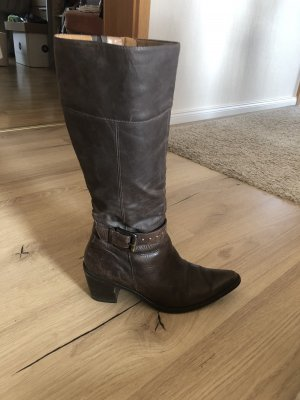 Paul Green Western Boots black brown