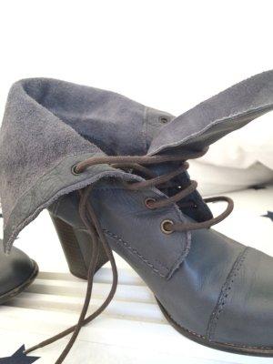 *Stiefel von Promod* Booties* Stiefelchen* Schnürbooties* Schnürstiefel*