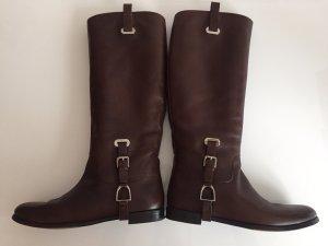 Ralph Lauren Jackboots dark brown