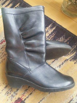 Stiefel von Rieker, echtes Leder, Größe 38,5 (5,5)
