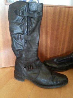 Stiefel von Rieker, schwarz, größe 40, Leder
