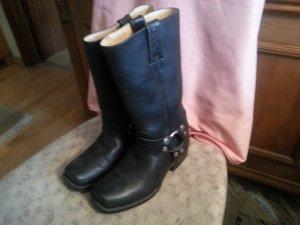 Stiefel von Sancho Boots, Größe 39, schwarz, Westernstiefel