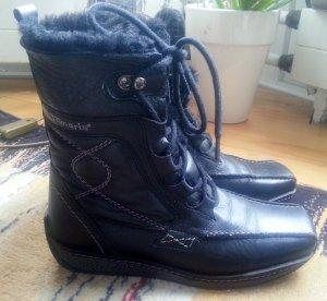 Stiefel von Tamaris, Warmfutter, Leder, Größe 37, schwarz