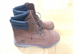 Timberland Lace-up Boots dark blue-brown