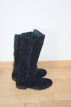 Stiefel,von Tommy Hilfiger, Leder, neu, Farbe: Dunkelblau