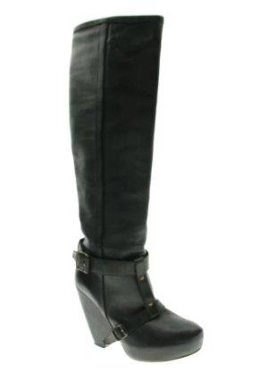 Stiefel von Vanessa Bruno gr. 38 Leder Schwarz