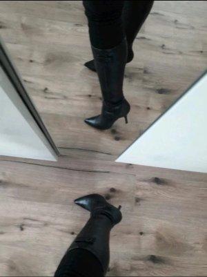Stiefel von Young Spirit schwarz mit Pfennigabsatz Größe 37