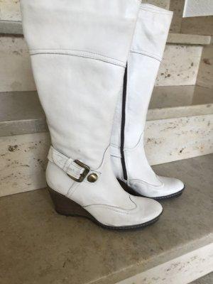 Stiefel Weiß