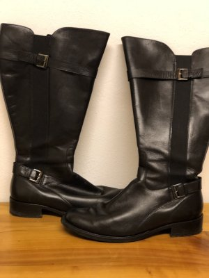 Semler Wide Calf Boots black