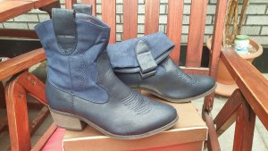 Western Boots multicolored imitation leather