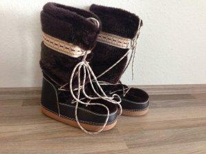 Buffalo Snow Boots bronze-colored