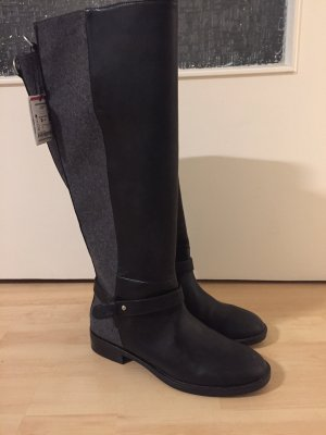 Zara Winter Boots black-grey