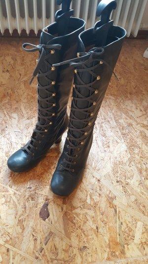 Chie Mihara Aanrijg laarzen grijs