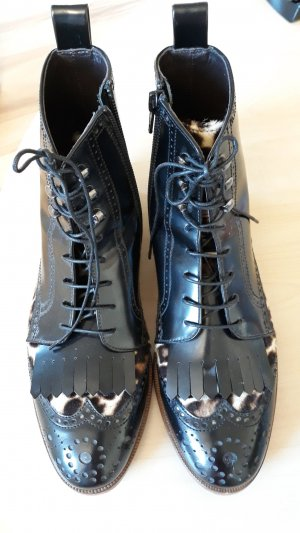 AGL Botas de tobillo negro