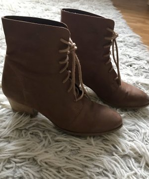 Görtz 17 Lace-up Booties camel