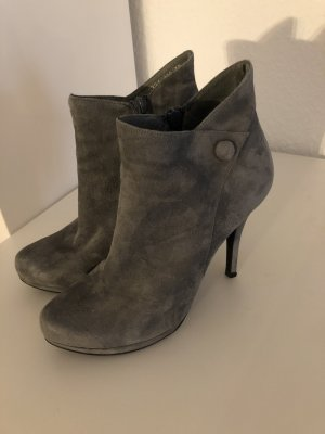 Stiefelette, Ankle Boot, High-Heel Buffalo grau, Gr. 38