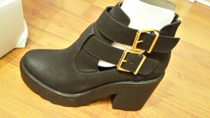 Stiefelette/ Ankle-boot Neu Plateau 42