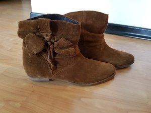 Stiefelette Ankle boots, Neu, 40, echt Leder