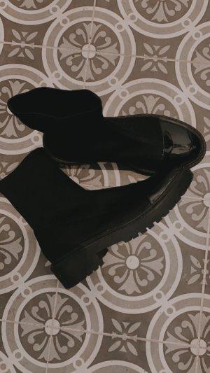 Asos Slip-on Booties black