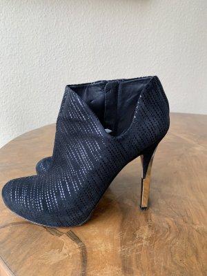 Guess Botas de tobillo negro Gamuza