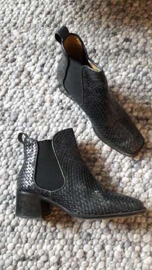 Pons Quintana Chelsea Boots dark blue leather