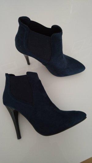 Stiefelette blau Grösse 39