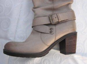 Pesaro Slip-on laarzen camel Leer