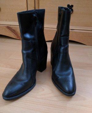 Stiefelette Boots Leder Esprit neuwertig