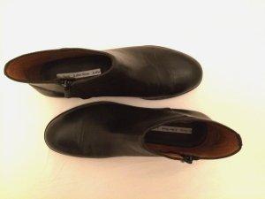 Stiefelette Boots & other stories Leder schwarz