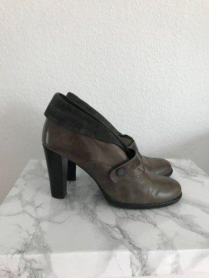 Stiefelette braun schlamm khaki Größe 41 ankle boots Ankle Boots