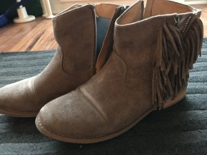 Fritzi aus preußen Western Booties light brown-beige