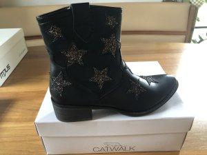 Catwalk Laarsjes zwart