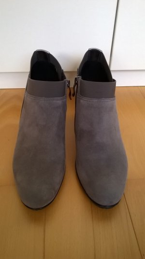 ara Booties grey suede