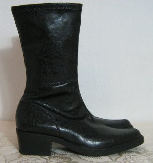 Stretch Boots black synthetic