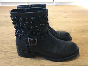 Konstantin Starke Booties black leather